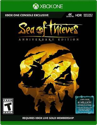Sea of Thieves: Anniversary Edition (Microsoft Xbox One) Brand New, Sealed