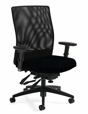 Mid Back Tilter Chair - Ergonomic Mesh Office Chair -