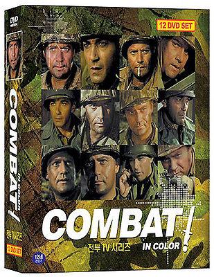 Combat, TV Series - 12Disc Box set (1966) Vic Morrow / DVD, NEW