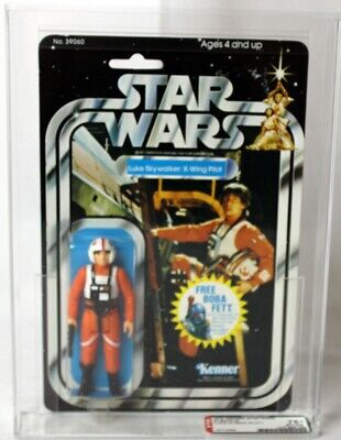 1978 Vintage Kenner Star Wars 20 Back-G Luke (X-Wing Pilot) AFA 75+ EX NM #1577