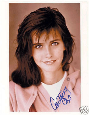 COURTENEY COX AUTOGRAPH SIGNED PP PHOTO POSTER 2
