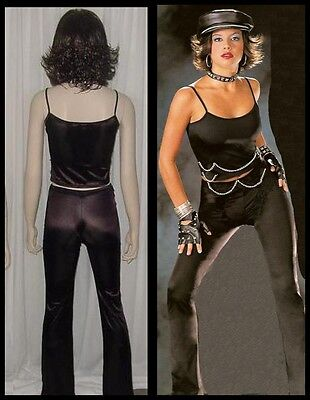 Lot of 10 CHAIN LINK Dance Costumes Biker Grease Pants Top 6-CM 1-CL 2-AS 1-AL - Grease Girl Outfits