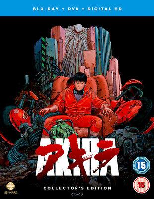 Akira - Collectors Edition Blu-Ray DVD   Anime