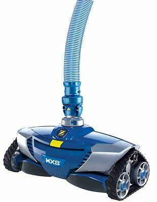 Zodiac MX8 Pool In ground Suction Side Swimming Pool Cleaner Vacuum with Hose
