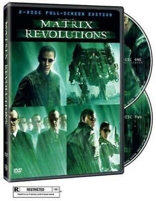 The Matrix Revolutions (DVD, 2004, 2-Disc Set) NEW (Halloween 2 Blu Ray Special Edition)