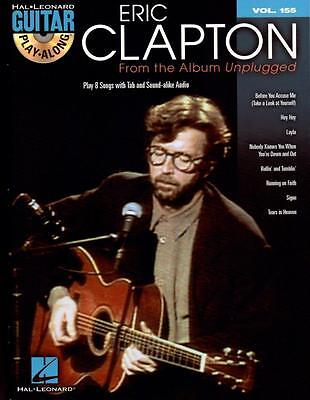 Eric Clapton From The Album Unplugged Guitar Play-Along Volume 155 mit CD