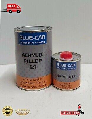 Filler & Primer grey 2K  HIGH BUILD PRIMER KIT 1L GREY 5:1 CAR BODY PAINT  1L