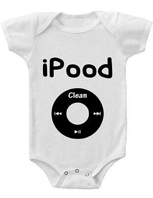 iPood Gerber® Onesie® FUNNY Baby Shower Gift INFANT T-SHIRT Funny Baby Onesie T-shirt