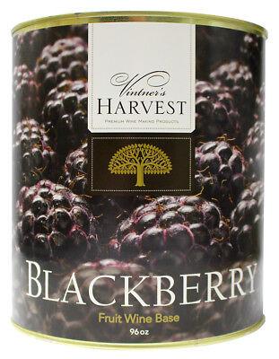 (Blackberry (Vintner's Harvest Fruit Bases) 96 oz for Home Wine Making)