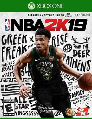 NBA 2K19 USED SEALED (Microsoft Xbox One, 2018)