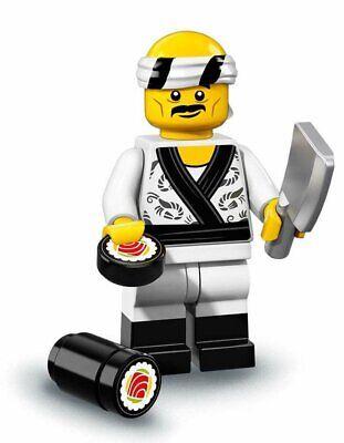 LEGO MINI FIGURES NINJAGO MOVIE #19 SUSHI CHEF