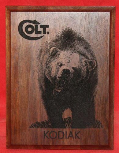 Colt Firearms Kodiak Cobra Plaque