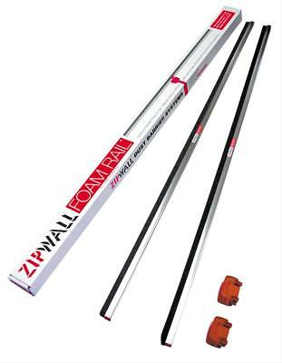 Zipwall Fr2 Rail Crossbars 4ftlx5ft 14inh White Pk2