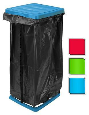 60Lt Folding Foldable Recycle Garbage Waste Rubbish Bin Bag Sack Stand Holder
