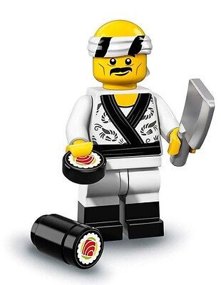 NEW LEGO NINJAGO MOVIE MINIFIGURES SERIES 71019 - Sushi Chef