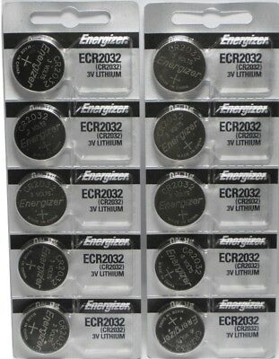 Купить Energizer CR2032 3V Lithium Coin Battery 2032 New Fresh 10 Pcs USA Seller