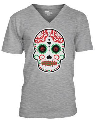 Cinco De Mayo Mask (Cinco De Mayo Skull - Mexico Celebration Drink Mask Margarita MensVee)