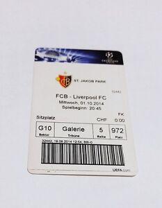 used ticket FC BASEL - FC LIVERPOOL 01.10.2014 - <span itemprop='availableAtOrFrom'>Kraków, Polska</span> - used ticket FC BASEL - FC LIVERPOOL 01.10.2014 - Kraków, Polska
