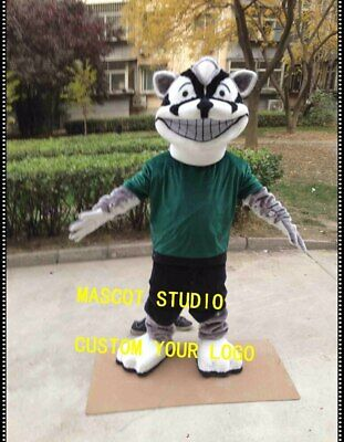 Badger Mascot Costume Suit Cosplay Party Game Dress Outfit Advertising Halloween - Badger Halloween Costume