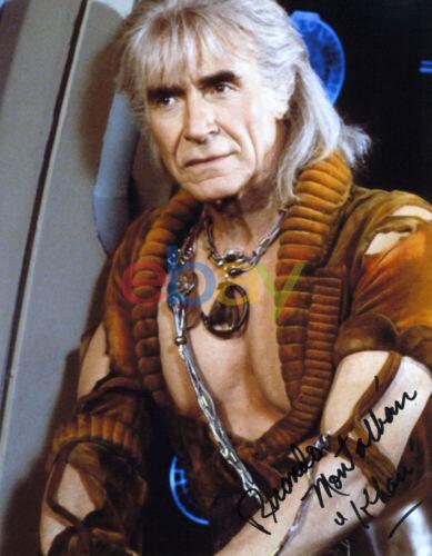 Ricardo Montalban Star Trek Khan Autographed Autograph 8x10 Signed Photo reprint