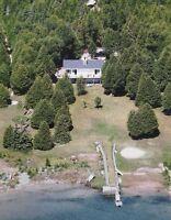 Lake Huron Waterfront Cottage - Miller Lake ON