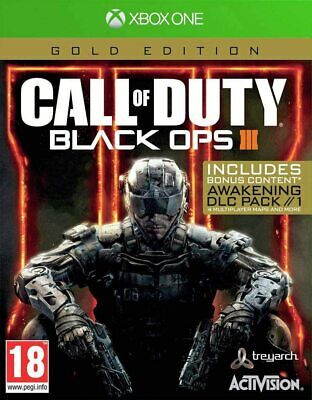 Call of Duty Black Ops III Gold Edition Xbox One New Sealed