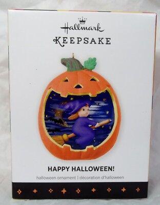 Hallmark Happy Halloween Series 2013 1st Witch Ornament