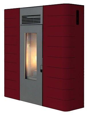 Estufa de Calefacción Pellet KING Hidro Slim 16 Kw Vino 140m2 con...