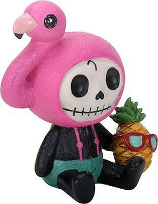 Furry Bones FLAMINGO STAR the Pink Flamingo Figurine, Skeleton in Costume, NIB (Flamingo Skeleton)
