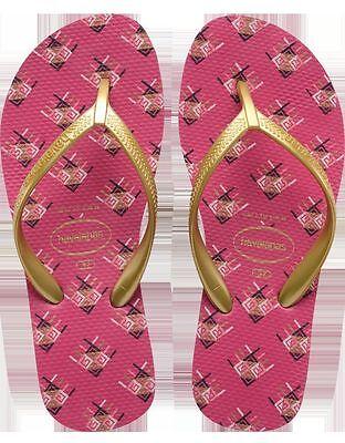Havaianas Women`s Flip Flops High Light II Orchid Rose Wedge