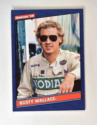 2019 Donruss Racing NASCAR Base Retro 1986 #156 Rusty Wallace ()
