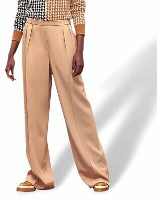 Hermes Camel Light Crepe of Wool PANTALON ESPRIT PYJAMA Relax Woman Pants, BNWT!