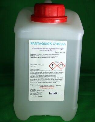 2 L Zusatzmittel / Beschleuniger für Beton Mörtel Antifrost (EUR 9,90/L)