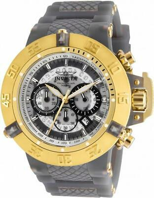 Invicta Subaqua 24369 Men's Round Analog Chronograph Date Silicone Watch