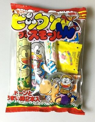 Japanese snack 9 set candy umaibo etc bikkuri(suprise) small W