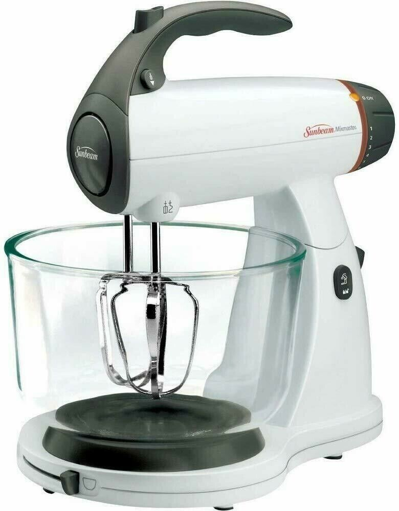 Sunbeam FPSBSMGLW White 12 Variable Speed 350 Watt Stand Mix