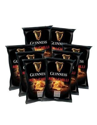 10 x Burts Guinness Chips Mix | Britische Kartoffelchips | Rich Chilli | 150g (Britische Kartoffel-chips)