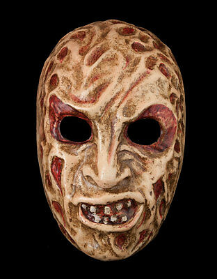 Mask Freddy-Halloween-Horror-Paper Mache Venetian -1901-V0