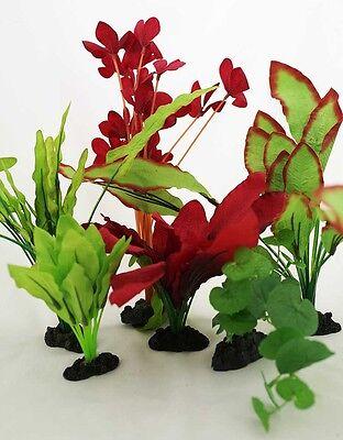 Aquarium Plants for Plastic Tank Silk COMBO B (11)