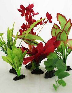 Aquarium Plants for Plastic Tank Silk COMBO B (11)