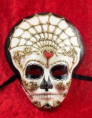 Mask Venice Day of dead- Skull Mexico- paper Mache -2119-VG8