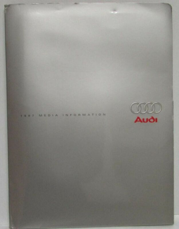 1997 Audi Press Kit - A8 A6 Cabriolet A4