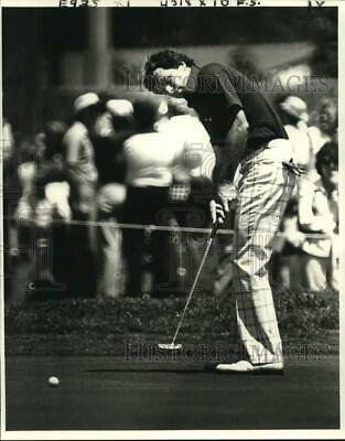 1979 Press Photo Curtis Strange, a former NCAA champion, finished strong Friday.