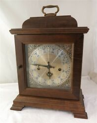 Vintage Hamilton Westminster Chime 340-020 Wood Mantle Clock