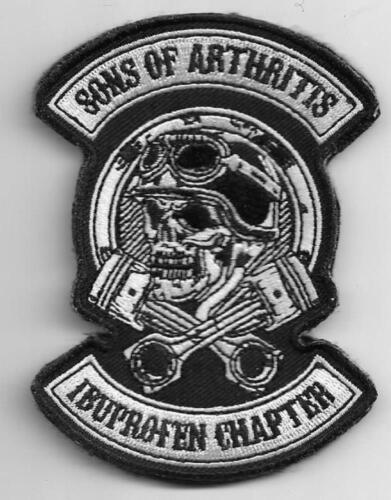 Son Of Arthritis Ibuprofen Chapter Patch novelty 3-1/2