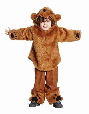 Bärenkostüm Bär Kinderbär Teddybär Plüschkostüm 104 116 - Teddy Bär Kostüme