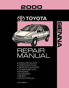 Toyota Sienna Repair Manual Ebay. 2000 Toyota Sienna Shop Service Repair Manual Book Engine Drivetrain Oem. Toyota. 2000 Toyota Sienna Engine Parts Diagram At Scoala.co