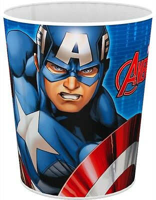 Avengers Marvel Captain america Hero Papierkorb Mülleimer Abfalleimer neu ()