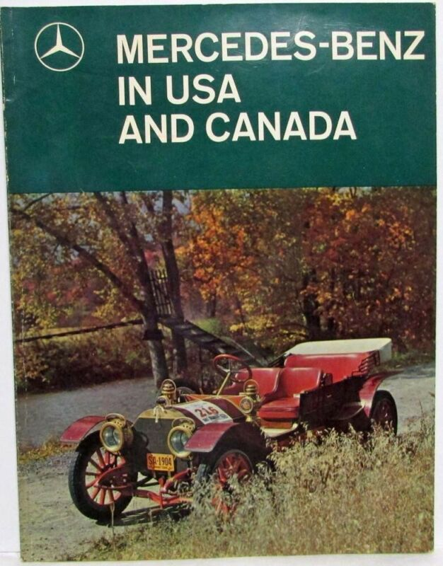 1960s Mercedes-Benz in USA and Canada Combined Issue