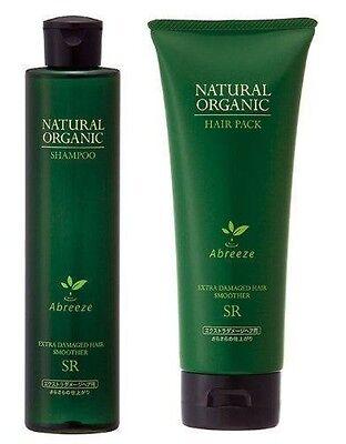 Abreeze Natural Organic Shampoo SR & Hair pack SR Treatment Hair care Scalp Care